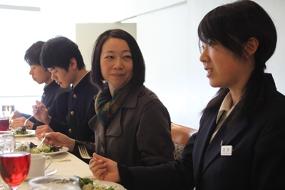 Lunch with a Japanese UN worker