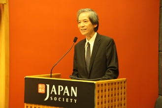 Ambassador Nishida of Japan gives opening remarks