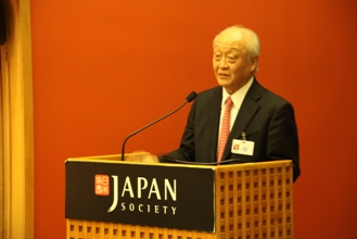 Judge Shunji Yanai, President of the International Tribunal for the Law of the Sea gives his speech