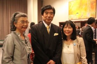 Main Staffs and Ambassador Kodama