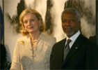 Secretary-General Kofi Annan and Mrs. Annan